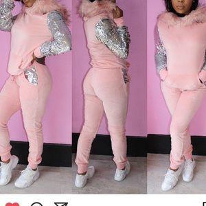 Pants - Such a girl jogging suit